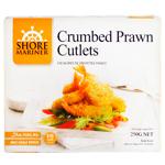 Shore Mariner Crumbed Prawn Cutlets 250g