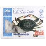 Shore Mariner Raw Swimmer Half Cut Crab 1kg