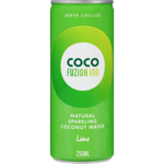 Coco Fuzion Lime Natural Sparkling Coconut Water 250ml