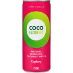 Coco Fuzion Raspberry Natural Sparkling Coconut Water 250ml