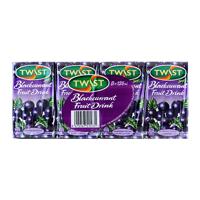 Twist Fruit Drink Blackcurrant 8pk