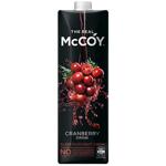 McCoy Cranberry Fruit Juice 1l