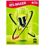 V Energy Drink Green Cans 275ml