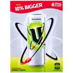 V Energy Drink Can Sugarfree 4pk