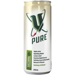 V Pure Energy Drink Can 250ml