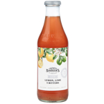 Barker's Lite Lemon Lime & Bitters Fruit Syrup 710ml