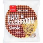 Pams Ham & Mushroom Quiche 160g