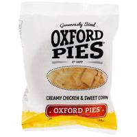 Oxford Pies Creamy Chicken & Sweet Corn Pie 220g