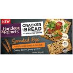 Huntley & Palmers Sprouted Rye Pumpkin Seeds & Sea Salt Cracker Bread 180g