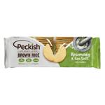 Peckish Brown Rice Rosemary & Sea Salt Crackers 100g