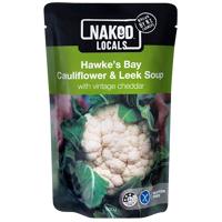Naked Hawke's Bay Cauliflower & Leek Soup 500g