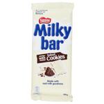 Nestle Milky Bar Chocolate Block Milk & Cookies 180g