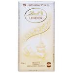Lindt Chocolate Block Lindor White Chocolate 100g