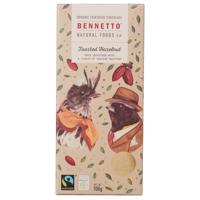 Bennetto Toasted Hazelnut Chocolate Block 100g