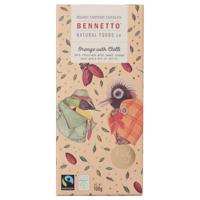 Bennetto Orange With Chilli Chocolate Block 100g
