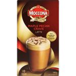 Moccona Maple Pecan Crave Latte Sachets 10pk