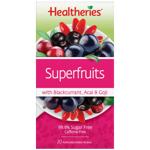 Healtheries Superfruits Tea Bags 20ea