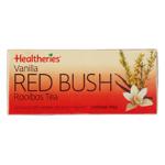 Healtheries Red Bush with Vanilla Rooibos Tea 20ea