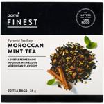 Pams Finest Morrocan Mint Tea Pyramid Tea Bags 20ea