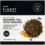 Pams Finest Rooibos Tea With Orange Pyramid Tea Bags 20ea