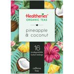 Healtheries Organic Pineapple & Coconut Tea Bags 16ea