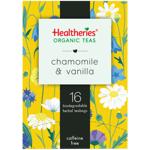 Healtheries Organic Chamomile & Vanilla Tea Bags 16ea