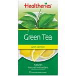 Healtheries Tea Green With Lemon 20pk
