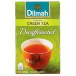 Dilmah Decaffeinated Green Tea Bags 20ea