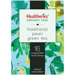 Healtheries Organic Traditional Pearl Green Tea Bags 16ea