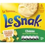 Le Snak Cheese Dip With Crispbread 6pk