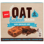 Pams Oat Baked Bars Dark Chocolate Chip 6pk