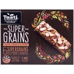 Tasti Super Grains Almond Cranberry Linseed 5 Bars 5pk