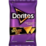 Doritos Corn Chips That Sweet Chilli party bag 300g