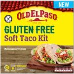 Old El Paso Gluten Free Soft Taco Kit 418g