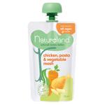 Natureland Chicken Pasta & Vege Mash Baby Food 6+ Months 120g