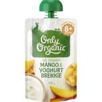 Only Organic Mango & Yoghurt Brekkie 8+ Months 120g