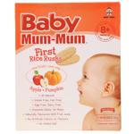 Baby Mum-Mum Apple & Pumpkin First Rice Rusks 36g