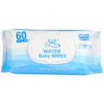 Silk Water Baby Wipes 60ea