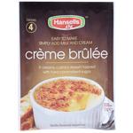 Hansells Creme Brulee Dessert Mix 70g