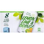 Deep Spring Lemon Lime & Orange Soft Drink 8pk