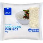 Value Long Grain White Rice 0.5kg