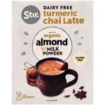 Stir Dairy Free Turmeric Chai Latte With Organic Almond Not Milk Powder 126g