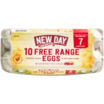 New Day Free Range Size 7 Eggs 10ea