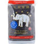 Five Stars Elephant Thai Black Jasmine Rice 1kg