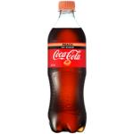 Coca Cola No Sugar Peach Soft Drink 600ml