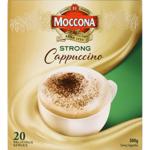 Moccona Strong Cappuccino Sachets 20ea