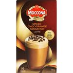 Moccona Spiced Choc-Orange Sensation Latte Sachets 10ea