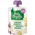 Only Organic Kindy Banana Vanilla & Greek Yoghurt Brekkie 1-5 Years 100g