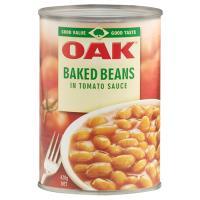 Oak Baked Beans in Tomato Sauce 425g