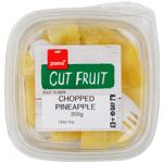 Pams Cut Fruit Chopped Pineapple 200g